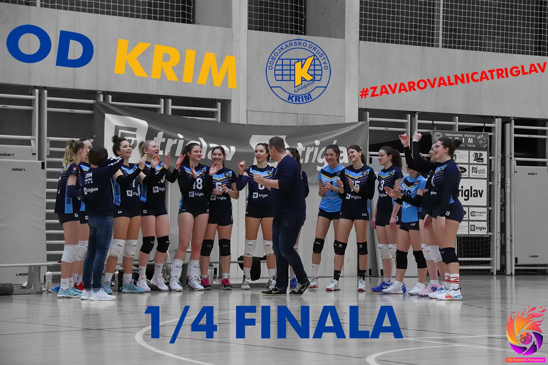 Krimovke v četrt finalu državnega prvenstva